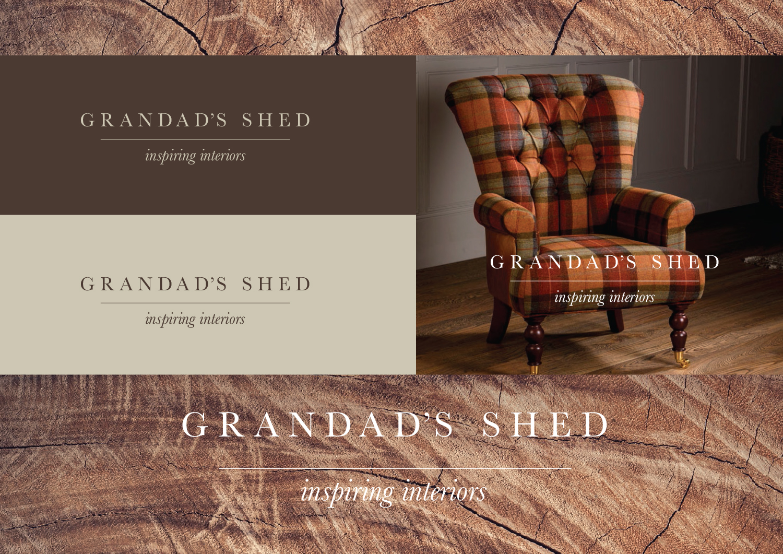 Grandads shed branding